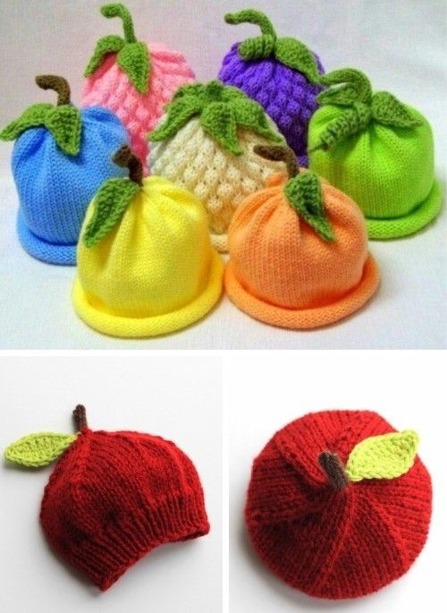 Caps for Babies – Free Knitting Pattern (Beautiful Skills – Crochet Knitting Quilting)