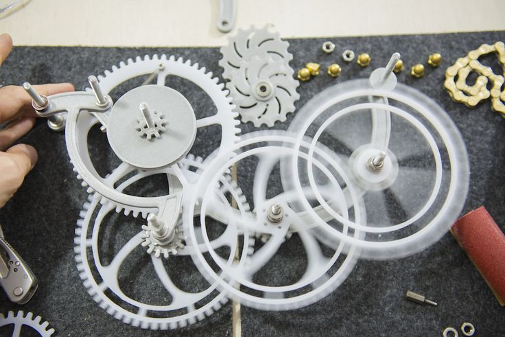 We have decided to create something special and unique, something that will show the creativity and passion we have for #3dprinting   Visit our website to find out more about our product: zmorph3d.com #clock #design #art #DIY