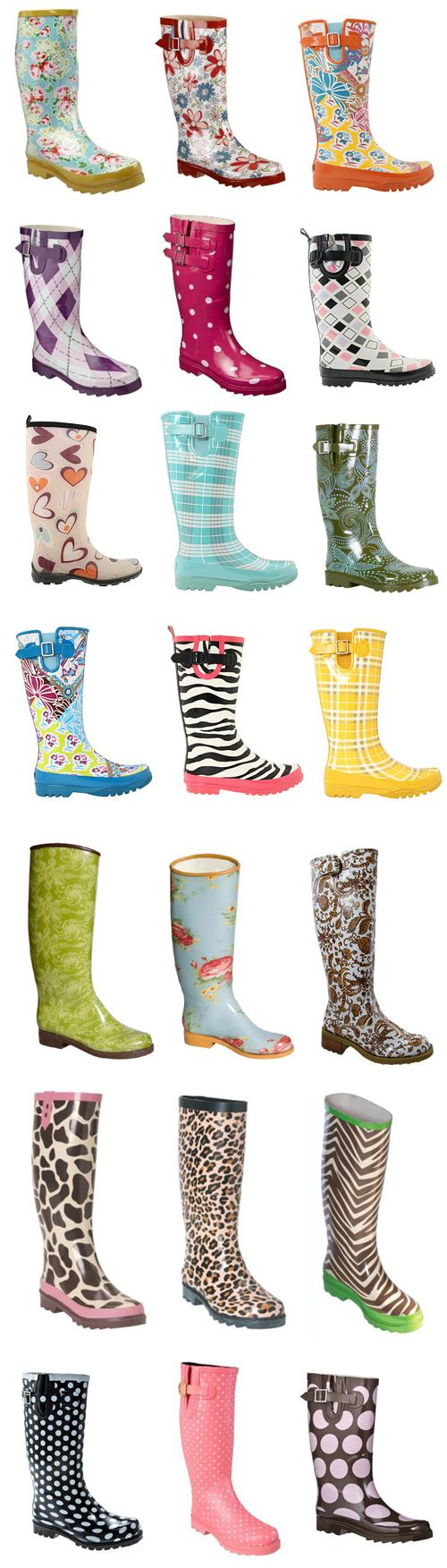As much as I hate rain...I should get a pair of rain boots. Maybe that will mean no more wet pants legs!