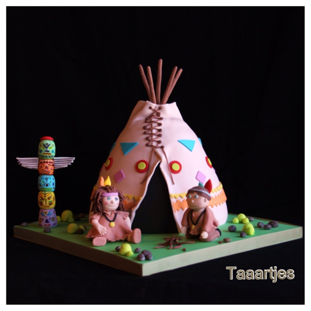 1000 Ideas About Girls Teepee On Pinterest: Cute Cakes, Cowboys And Indians And Indian Cake