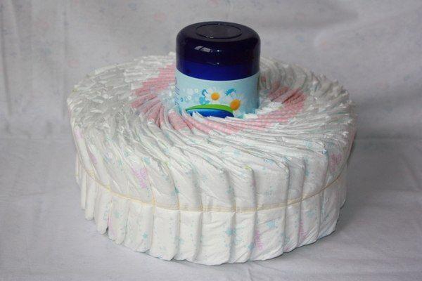 diaper forward como hacer caracoles de pa ales para un baby shower 2