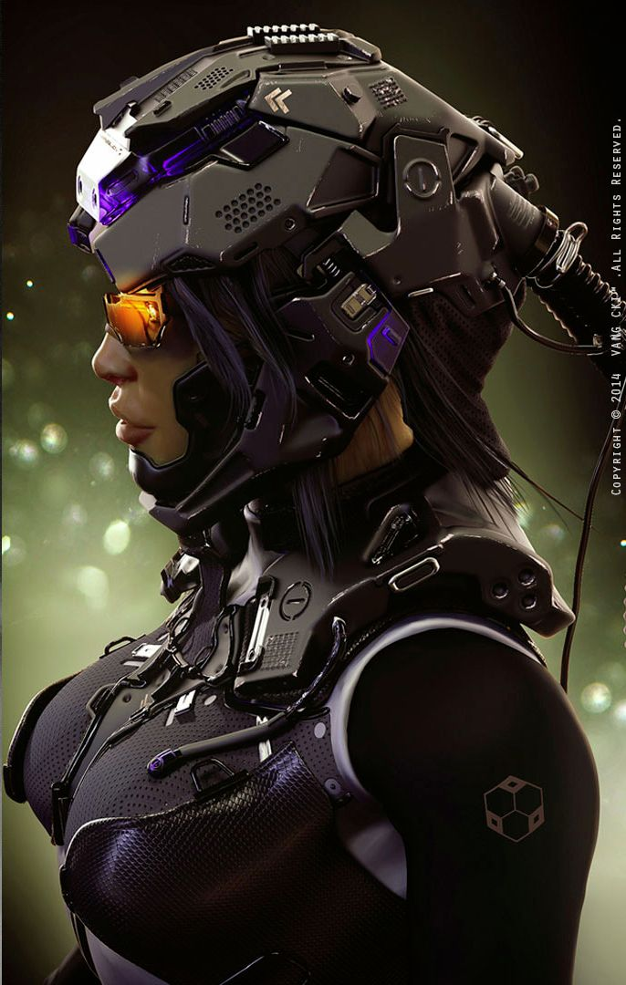 Pilot Suit 2 by VANG CKI KRSLD. see more #space #sci fi pics at www.freecomputerdesktopwallpaper.com/wspacenine.shtml