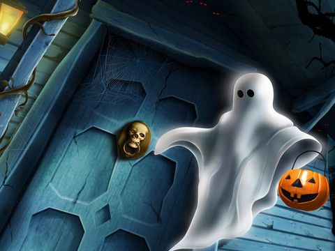 Amazing Halloween Game and Wallpapers HD - FREE iPad Screenshot 2 found on AnyKey.Com
