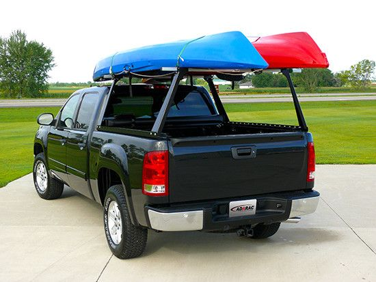 The Adarac Truck Bed Rack is great for moving kayaks