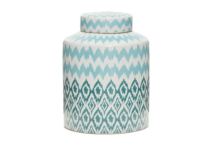 Ikat Jar | Super Amart is the most gorgeous colours and will go with my dream bedroom decor, it will have many uses and will come in handy for sure