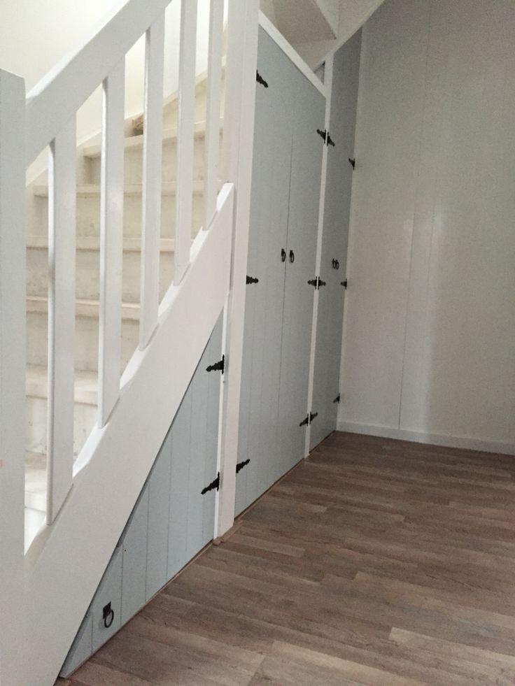 Onze nieuwe trapkast in style van onze jaren 30 woning.