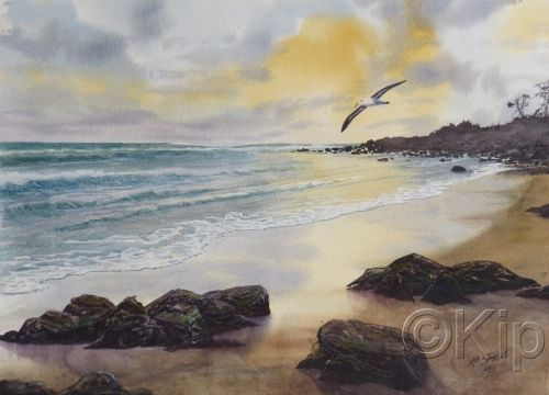 Cabarita Beach Sunrise-02 NSW by Kip Spiegle