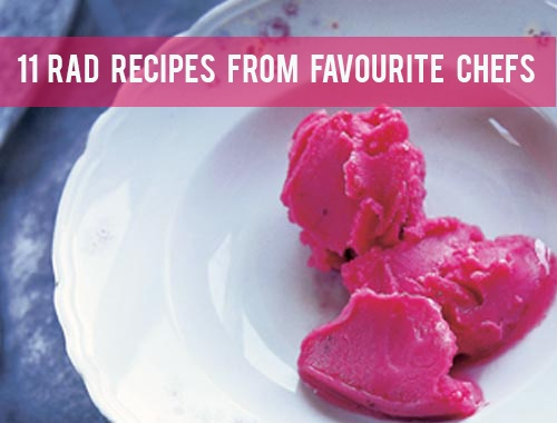 Food: Eleven Rad Recipes From Favourite ChefsFavourite Chefs, Cranberries Recipe, Happy Food, Rad Recipe Jpg 500 380, Ice Cream, Eleven Rad, Healthy Recipe, Cream Recipe, Cranberries Sorbet