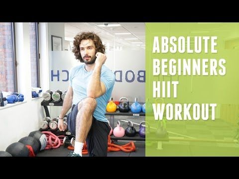 Absolute Beginners HIIT Workout | The Body Coach | Joe Wicks - YouTube