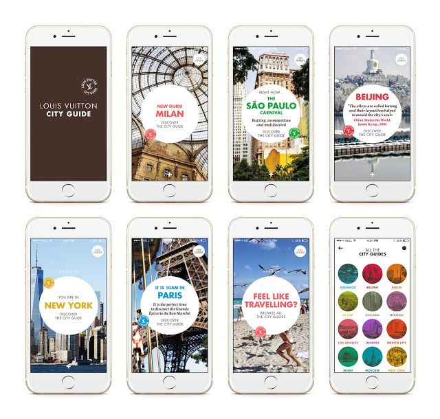 Louis Vuitton launches City Guide App — That's it Magazine | Bloggers around the world. THATS IT is Inspired by fashion, art, culture, and life style