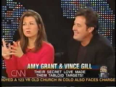 ♡♥Amy Grant with Vince Gill on the Larry King show - part 5♥♡