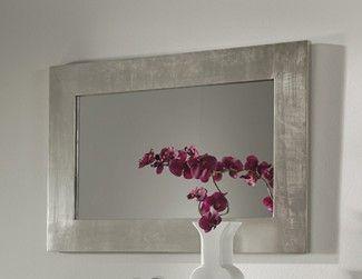 Espejos de madera Modelo ROSAURA Plata