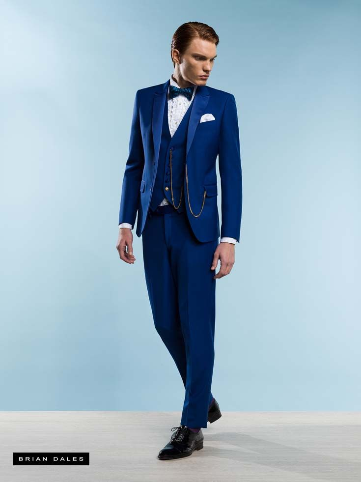 #BRIANDALES #MAN #COLLECTION #SS2016, single-breasted suit with matching vest, shirt with pleated bib and bow.