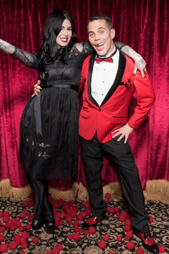 Steve-O Confirms He's Dating Kat Von D With the Sweetest Message