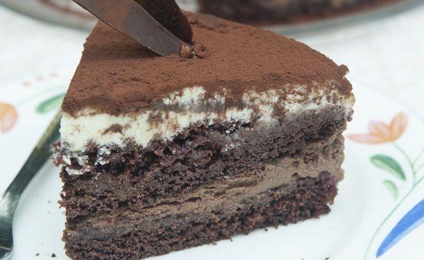 Bayars superlækre chokoladekage.