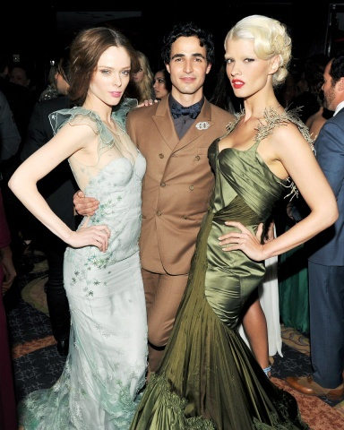 c. renn est blonde (and wearing zac posen)?