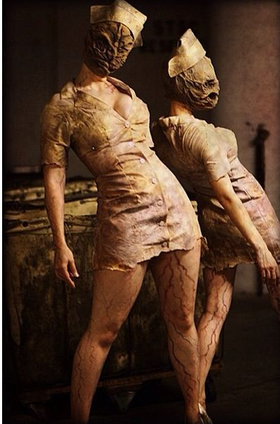 Silent hill nurses. One of the most chilling movies I've seen