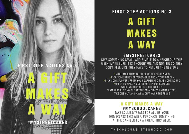 First Step Actions #3