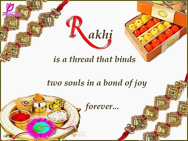 Raksha Bandhan | Raksha Bandhan Greetings Cards for Sisters and Brothers with Quotes ...