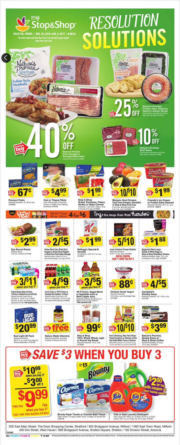 Stop and Shop Circular December 30 - January 5, 2017 - http://www.olcatalog.com/grocery/stop-and-shop-circular.html