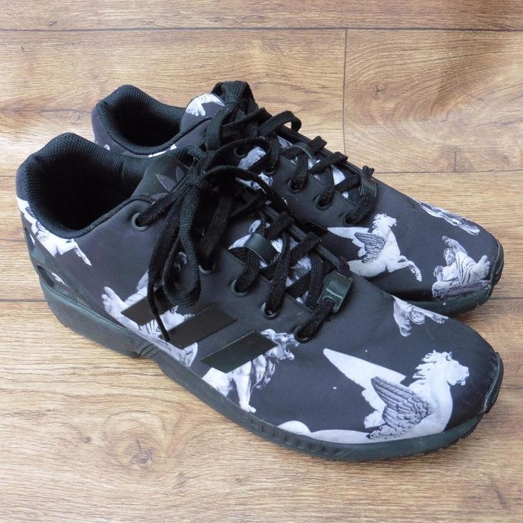 33dc7e182 ... spain size uk 12 adidas originals zx flux mythology greek gods black ltd  edn trainers 486f6