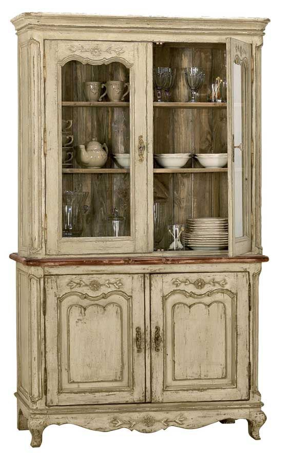 French Country Hutch - This would look beautiful against my turquoise walls!