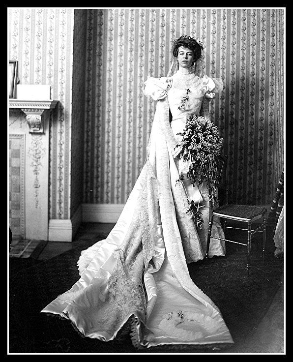 Extraordinary Photos of U.S. Presidents on Their Wedding Days |Eleanor Roosevelt Wedding