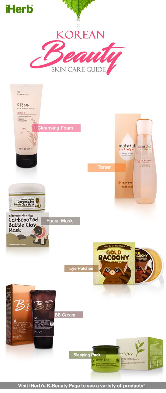 Check out our selection of Korean Beauty Products!