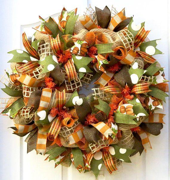 inspirational fall wreaths and where to purchase them - Mantel Der Ideen Frhling Verziert