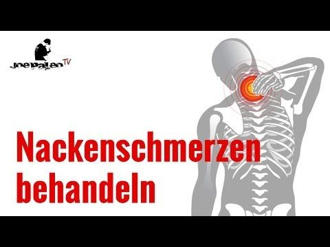 Nackenschmerzen - HWS Syndrom - Diese Übungen helfen! - YouTube