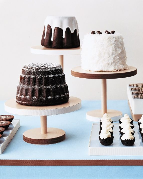 The pastry chef included two malted dark chocolate cakes, marbleized chocolate-truffle tartlets, and chocolate cream puffs filled with whipped-cream centers, among other chocolate treats.