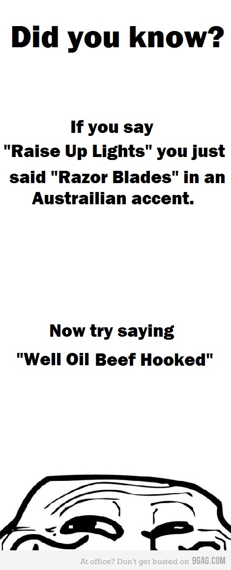australian accent There are multiple australian accents, but thought of as a single accent by the world at large here we go, cobber: broad: picture (so to speak) the fair.