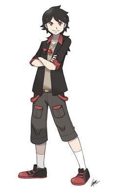 Image result for pokemon trainer oc
