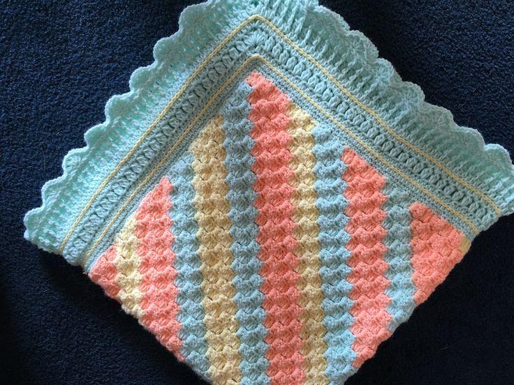 Baby blanket crochet project by Paula H