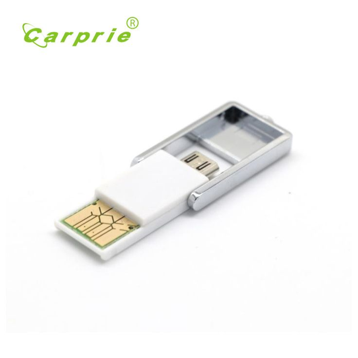 Carprie New 2in1 Micro USB 2.0 OTG Adapter + Micro SD TF Card Reader For Smart Phone PC  17Jun21 Dropshipping