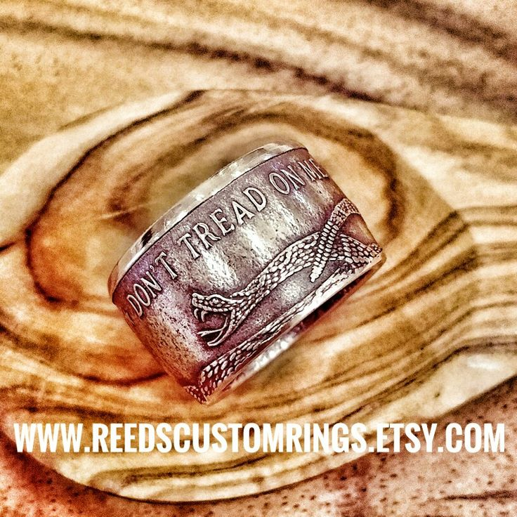 ON SALE NOW! $19 OF REGULAR PRICE Pure Copper Don't Tread on Me Ring @ www.reedscustomrings.etsy.com  #donttreadonme #gadsden #flag #patriotic #ring #rings #jewelry #bullion #silver #coin #coins #coinring #veteran #teamlove #veteranowned #usmcvet #repurposed #recycled #usmc #usairforce #mensjewelry #mensfashion #mensrings #womensjewelry #womensfashion #snake #rattlesnake