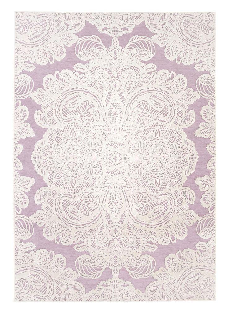 Vallila ALEKSANDRA-matto, 140 x 200 cm (roosa) | Sotka