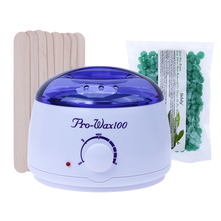 Wax Beans Epilator Set Temperature Adjustable Wax Heater Hair Removal Cream Pearl EU Plug Warmer Heater Professional Epilation