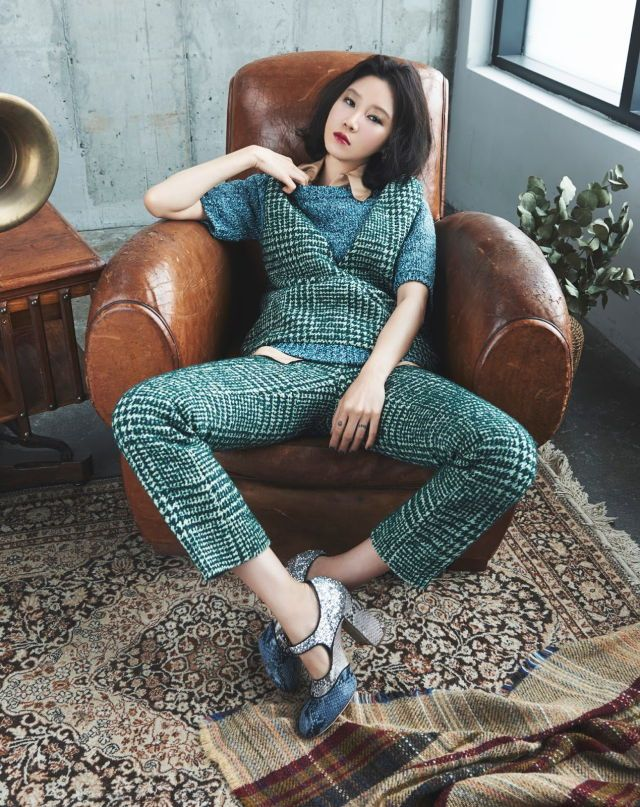 Gong Hyo Jin - Marie Claire Magazine September Issue '15