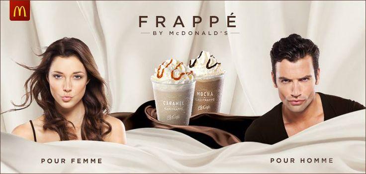 Caramel and Mocha Iced Frappe - McDonald's UK #Caramel #Latte #Frappe #Mocha #McDonalds #UK #McCafe