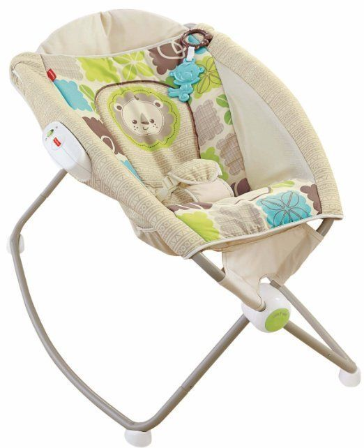 Rock 'n Play Baby Sleeper Rocker Cradle Newborn Infant Acid Reflux Elevated Crib #FisherPrice