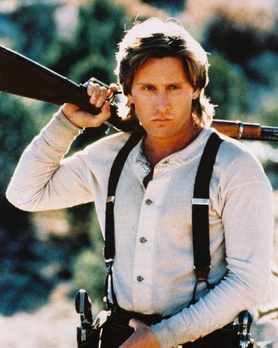 THE YOUNG GUNS - Emilio Estevez as 'William F. Bonney' alias 'Billy the Kid' - 20th Century-Fox - Publicity Still.