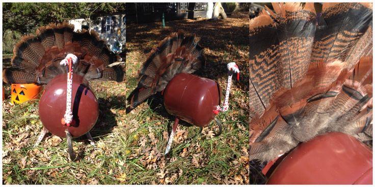 Propane tank art; turkey #propanetankart