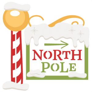 North Pole Sign: Miss Kate Cuttables