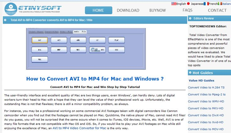 Avi to mp4 - Total Video Converter helps you convert avi to mp4 with fast speed and high quality.