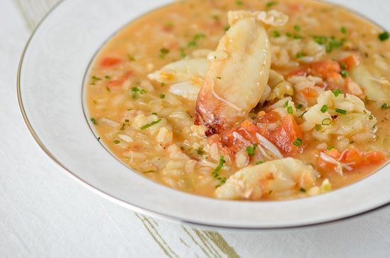 Crab Risotto - I'm always wary of crab recipes, because I'm from Baltimore and therefore a snob about my seafood, but this does look good.