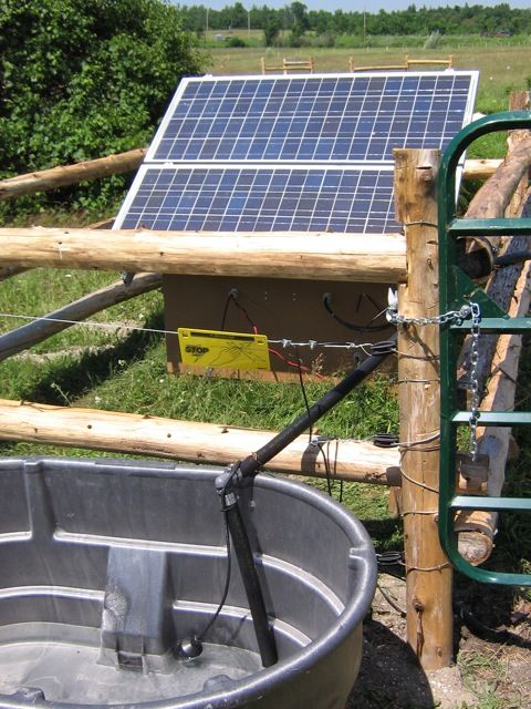 Solar Powered Water Pump