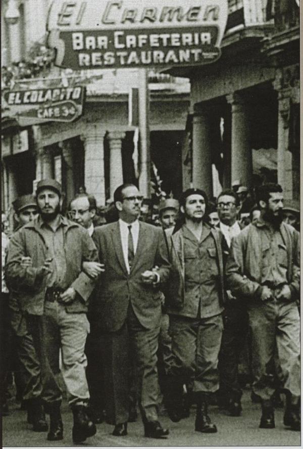 Ernesto Rafael Guevara de la Serna and Fidel Alejandro Castro Ruz. チェ・ゲバラとカストロ議長