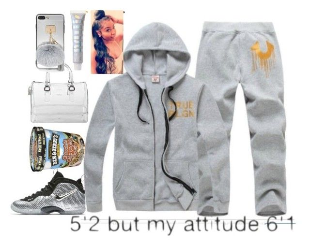 """True to my religion "" by d-double-e ❤ liked on Polyvore featuring NIKE and Furla"