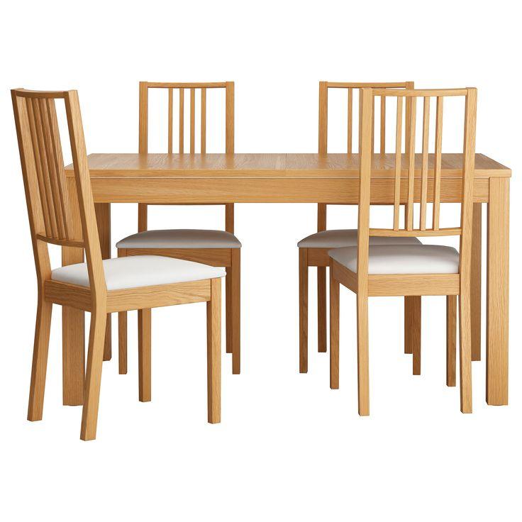 BJURSTA / BÖRJE Table and 4 chairs - IKEA